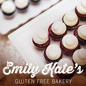 EmilyKate GLUTEN FREE Mini Cupcakes (Qty - 12) - SELECT ONE FLAVOR BELOW